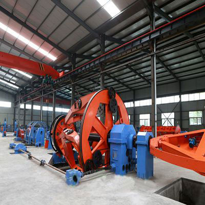 wire machines factory